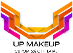 Use o cod Laiali e ganhe 5% de desconto em compras na Up Makeup