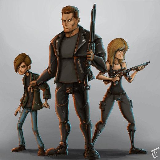Terminator 2 por bob6kills