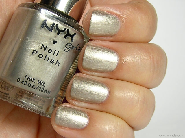 NYX Girls Nail Polish in Milano