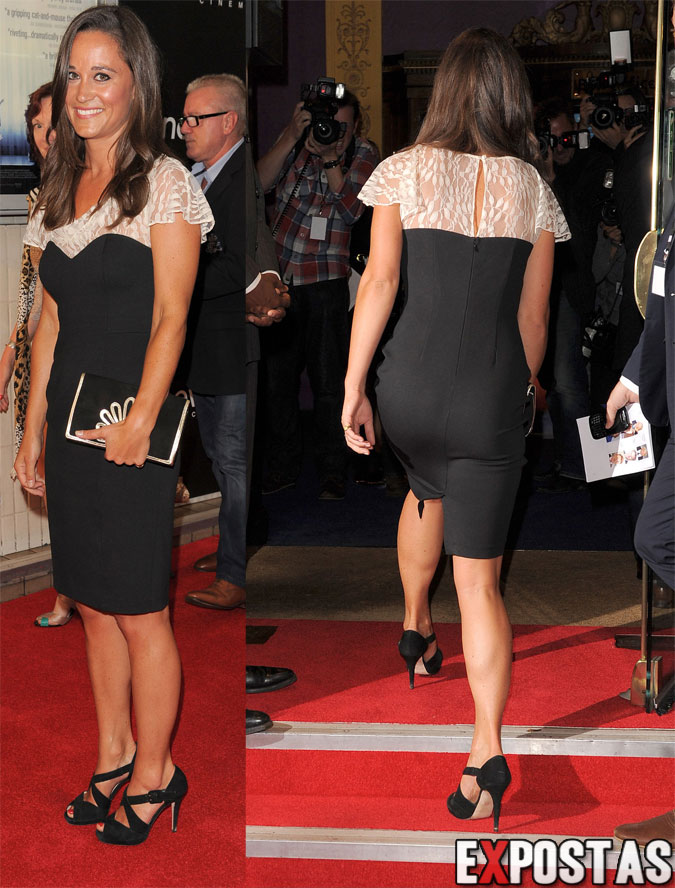 Pippa Middleton: 'Shadow Dancer' première em Londres - 13 de Agosto de 2012