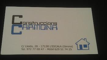 CONSTRUCCIONS CARMONA