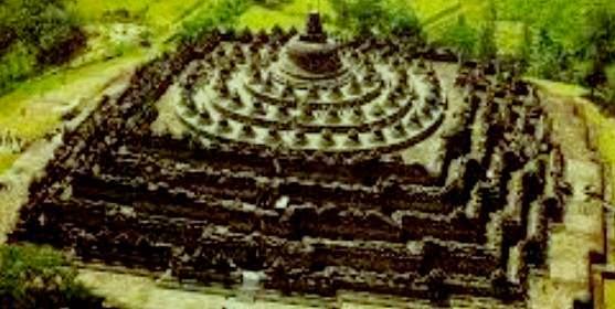 Candi Borobudur Magelang Jawa Tengah