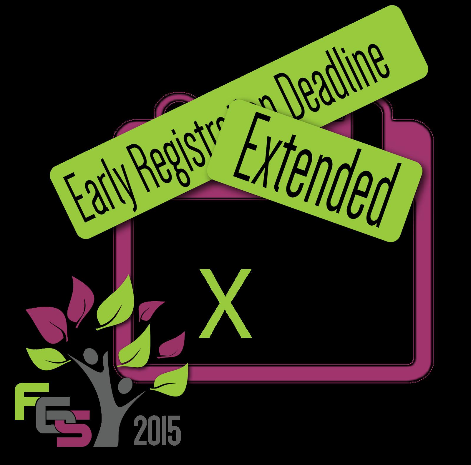 FGS 2015 Early Registration Deadline Extended