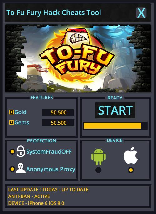 To Fu Fury Hack