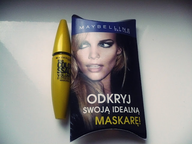 Mascara od Maybelline the Colo Ssal Volum' Express - 100% Black