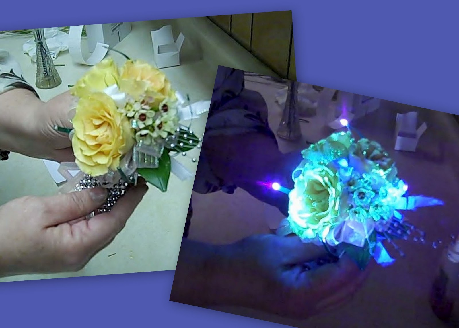 Prom Flowers The Galassia Flowers Trial Assembly