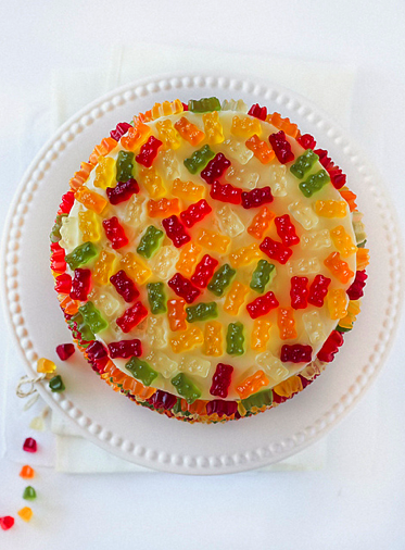 Dots Candy Cake