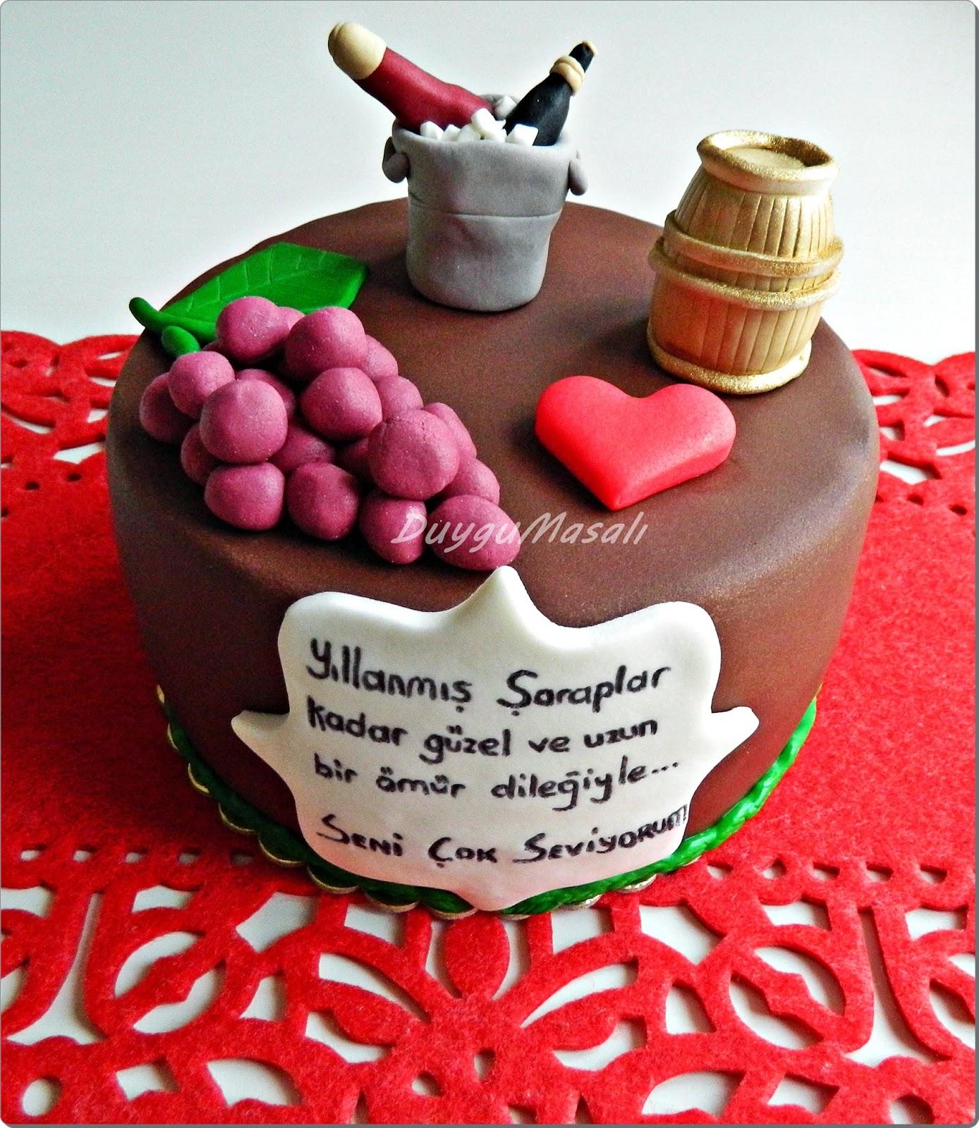 edirne yetişkin doğum günü pasta