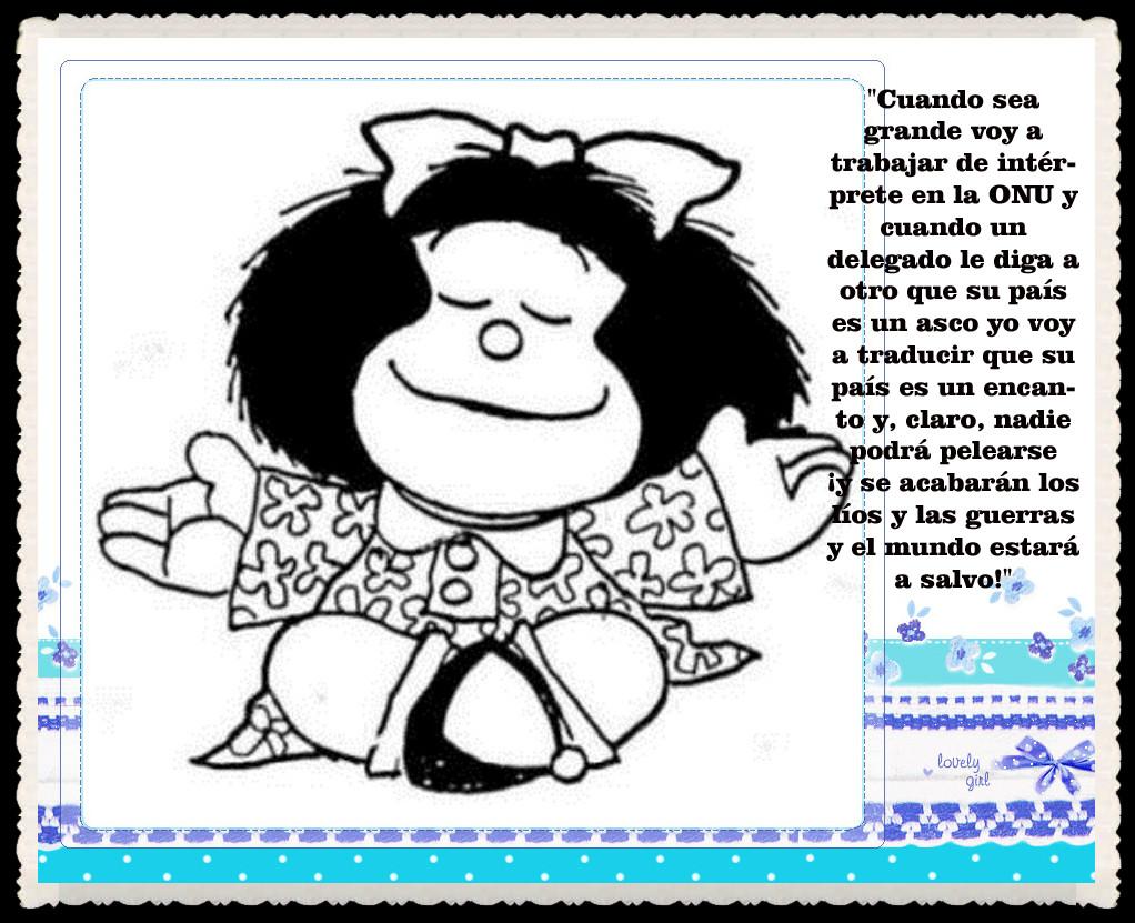 DIA De La Mujer Mafalda