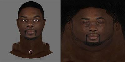 NBA 2K13 Lance Stephenson Face Texture