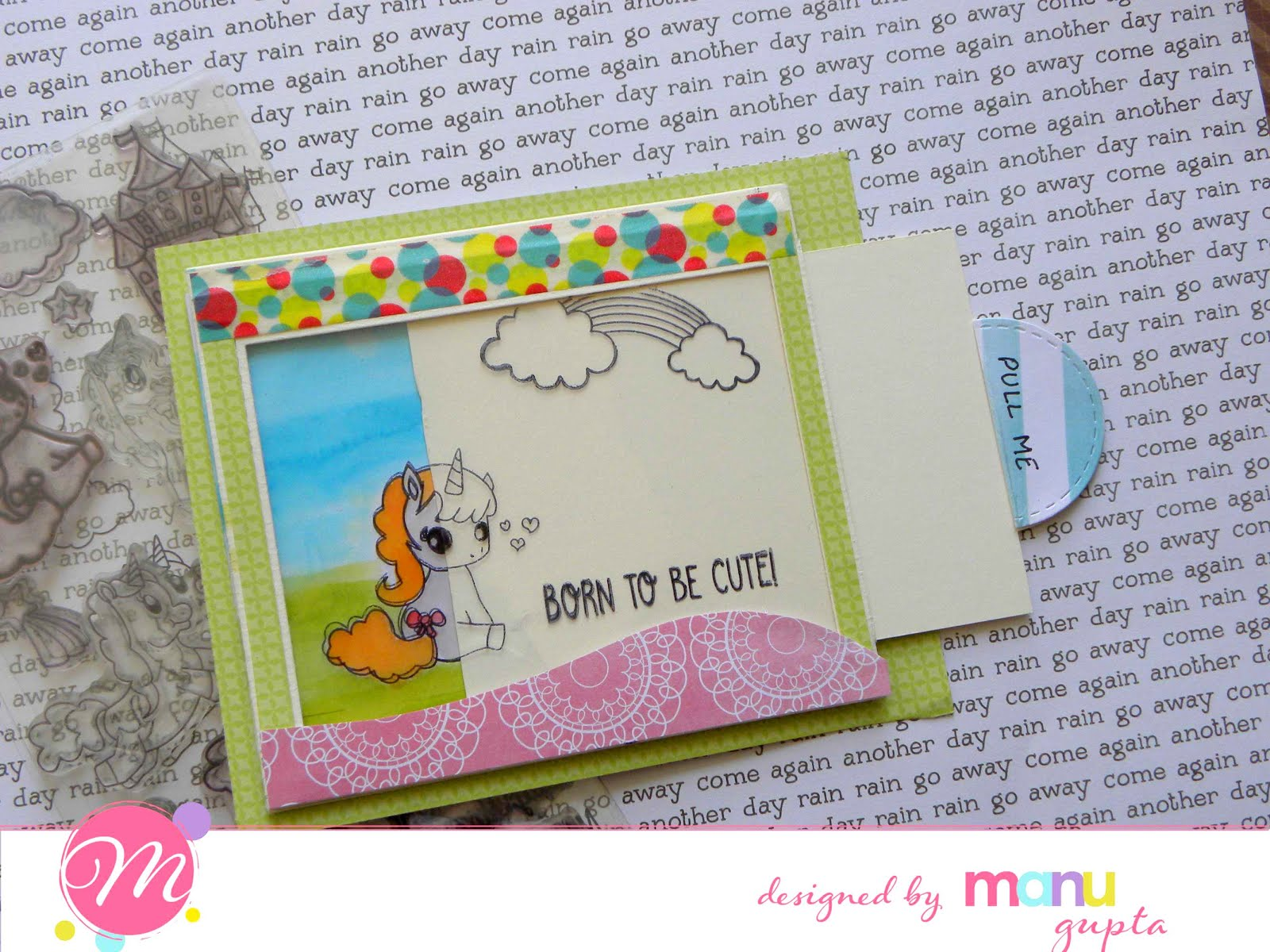 Mudra Craft Stamps Interactive Cards The Fun Way To Make Cards