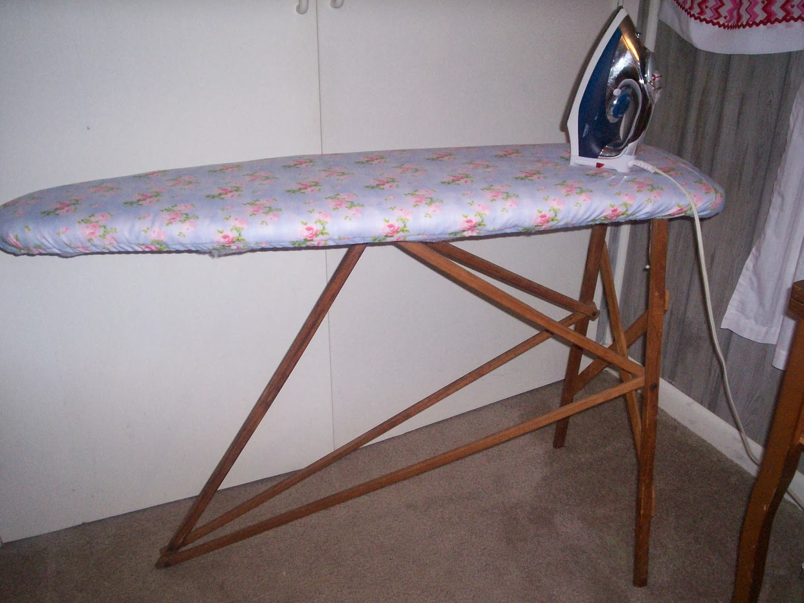 ironing board furniture. Here Is My Finished Antique Ironing Board. A New Life Has Begun For It. Board Furniture