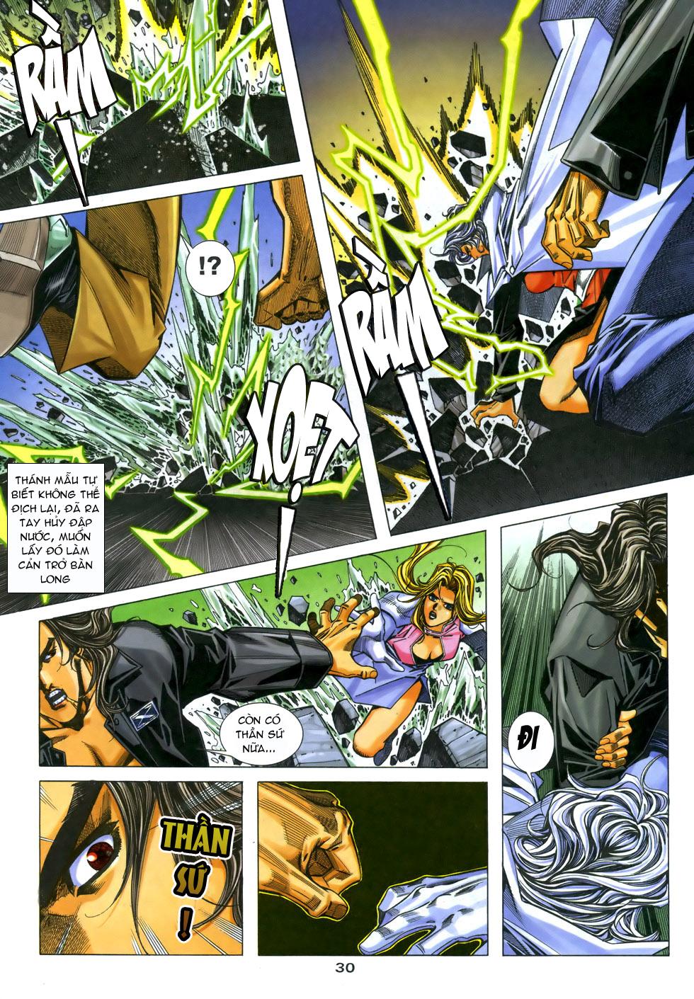 X Bạo Tộc chap 33 - Trang 30