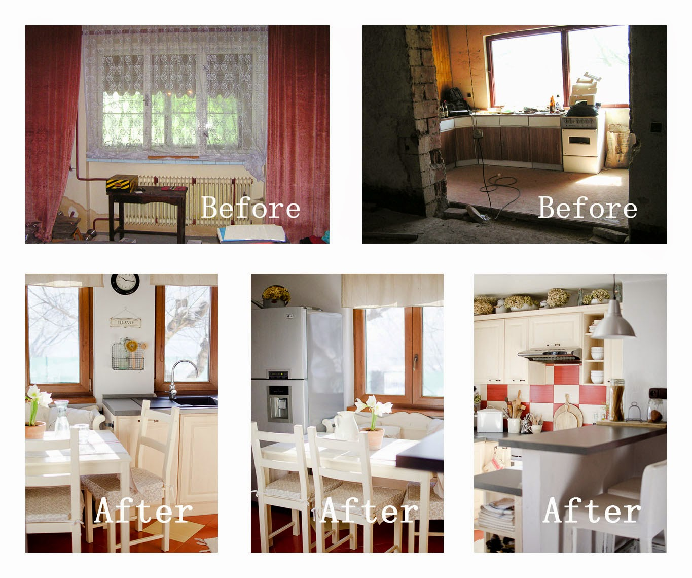 prairie charm kitchen before and after
