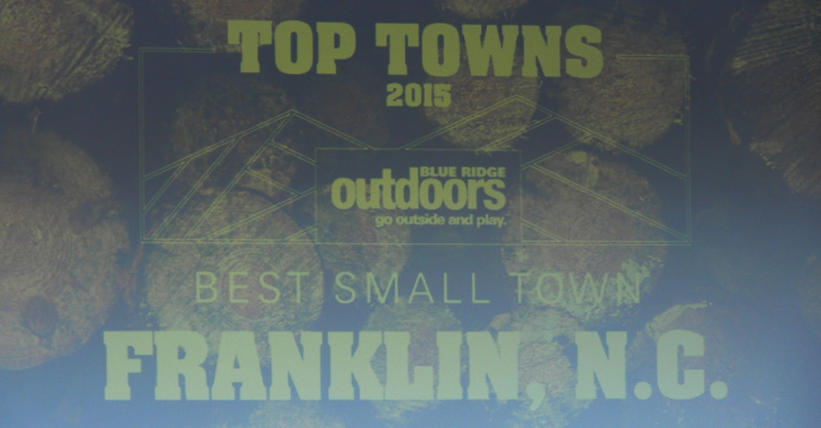 Franklin wins contest in Blue Ridge Outdoors Magazine