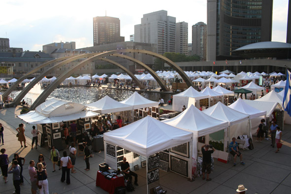 Add Some One Of A Kind Art To Your Home While Suporting Local Artists In Nathan Phillip Square