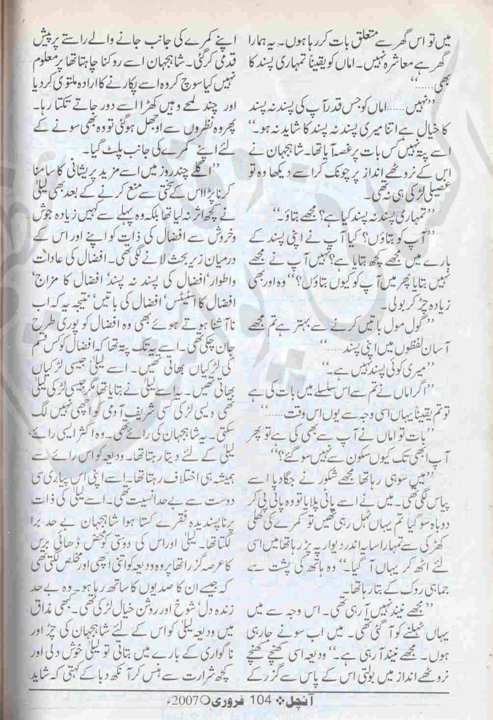 kitab dost dil ki dehleez per novel by syeda gul bano