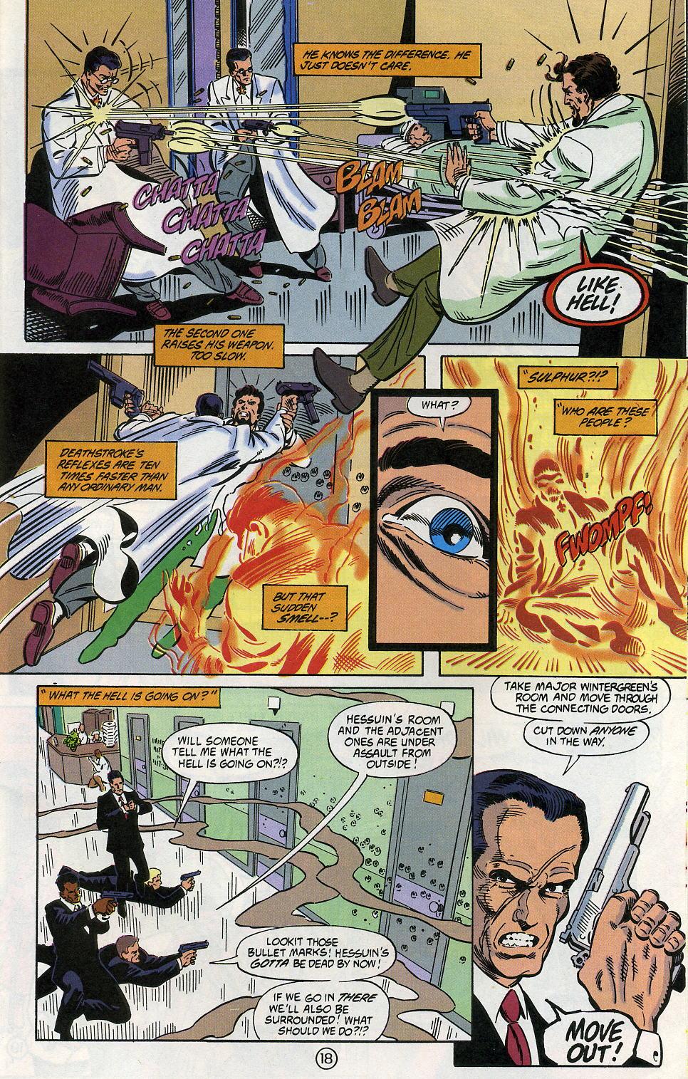Deathstroke (1991) Issue #5 #10 - English 23