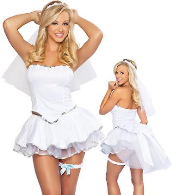 adorable bride wedding lingerie