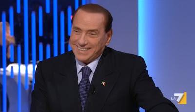 """Silvio Berlusconi on La7's """"8 e mezzo"""""""