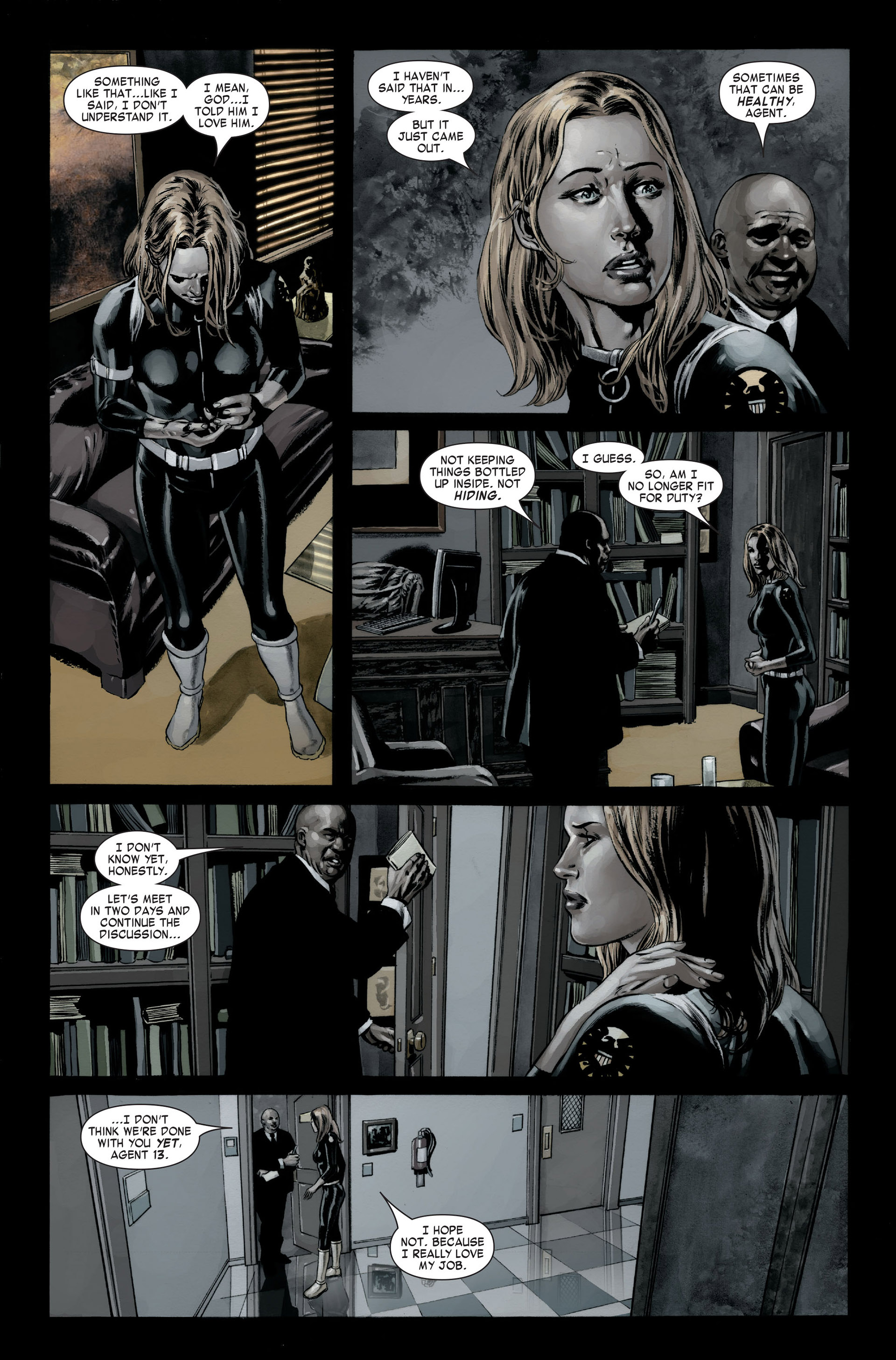 Captain America (2005) Issue #22 #22 - English 21