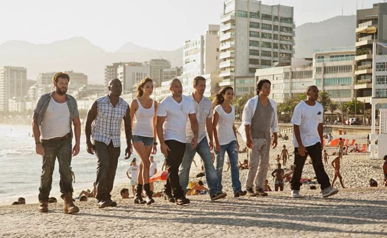 FAST FIVE (2011) - Toretto and Hobbs