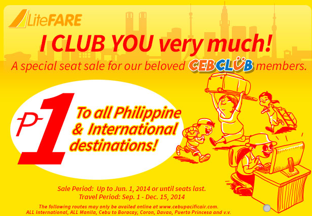 Promo fare sale by PromoTravelTips