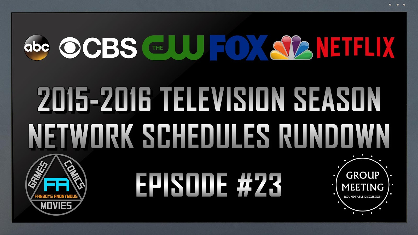 Fall 2015 TV Calendar Schedule