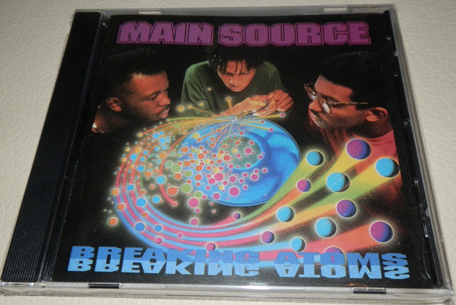 Hip Hop Blog: Main Source - Breaking Atoms (1991) 320kbps