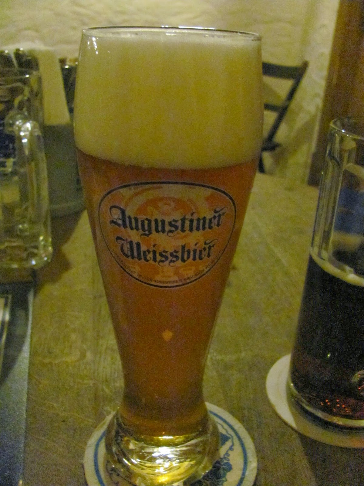 Augustiner Beer Hall Wheat Munich, Germany