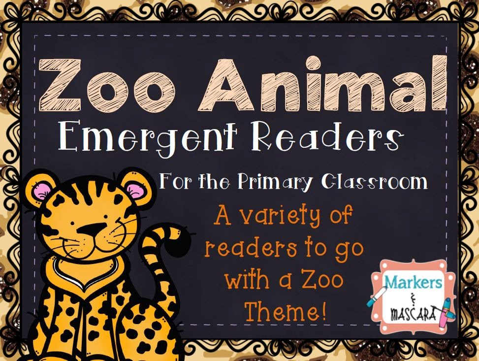 https://www.teacherspayteachers.com/Product/Zoo-Animal-Emergent-Readers-1712461