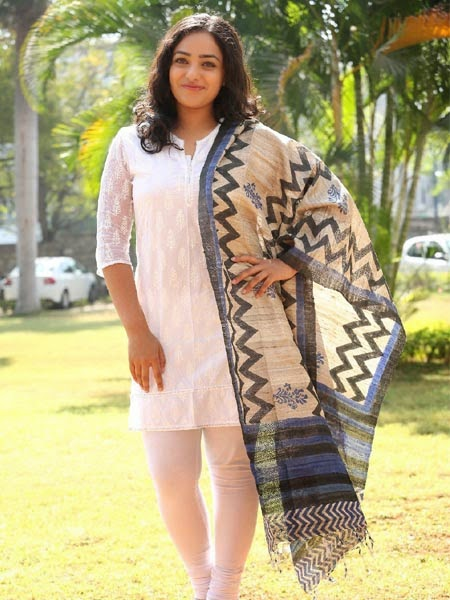 Nitya Menon Latest Photos at MMIRR Success Meet Event
