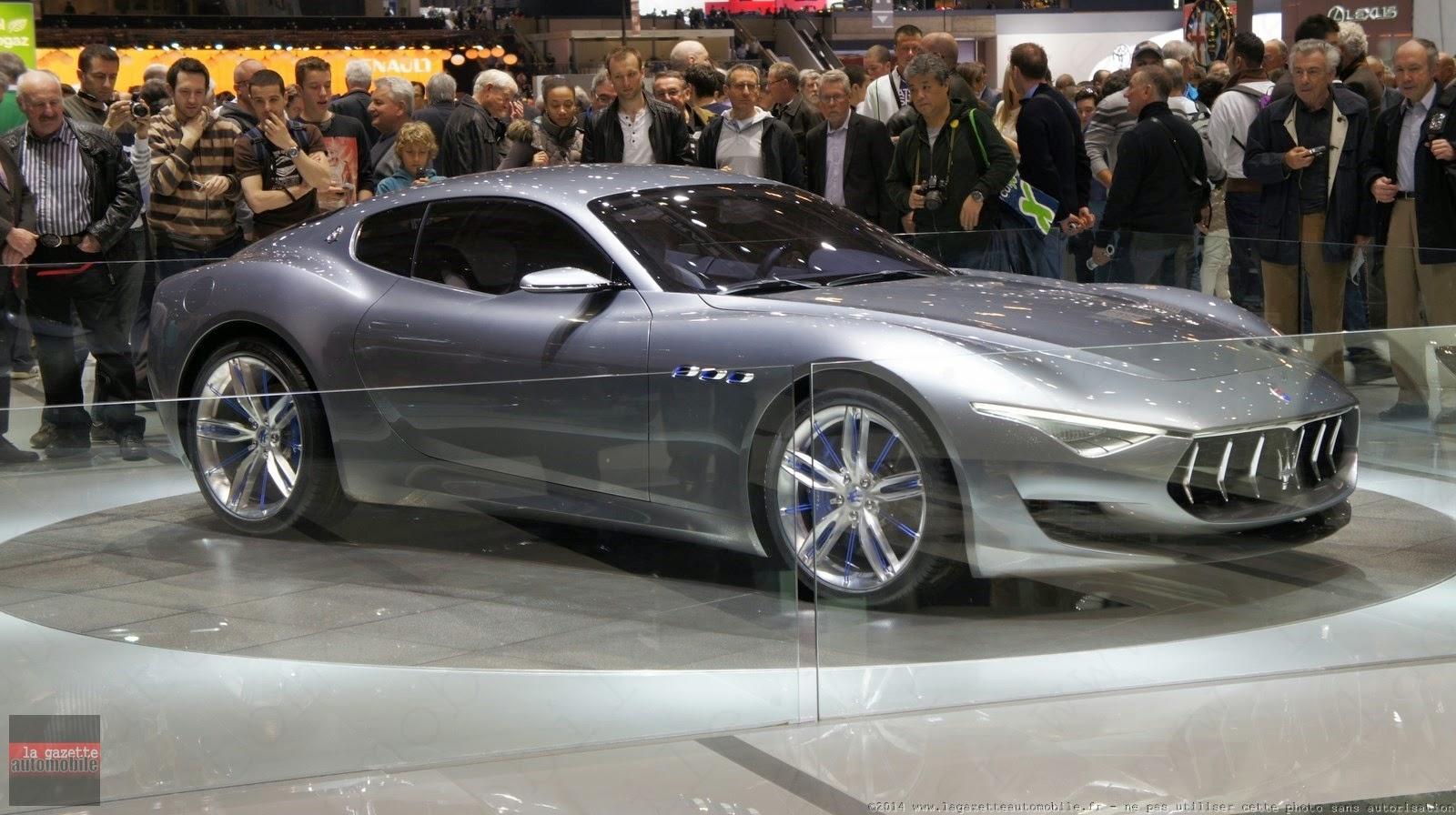 Genève : Maserati Alfieri Concept