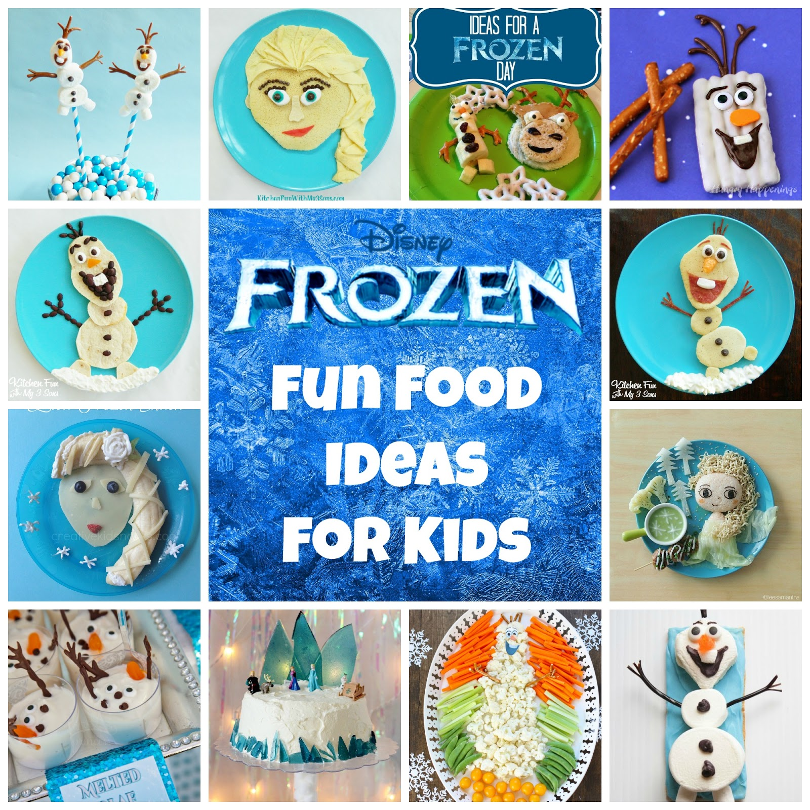 Frozen Food and Party Ideas