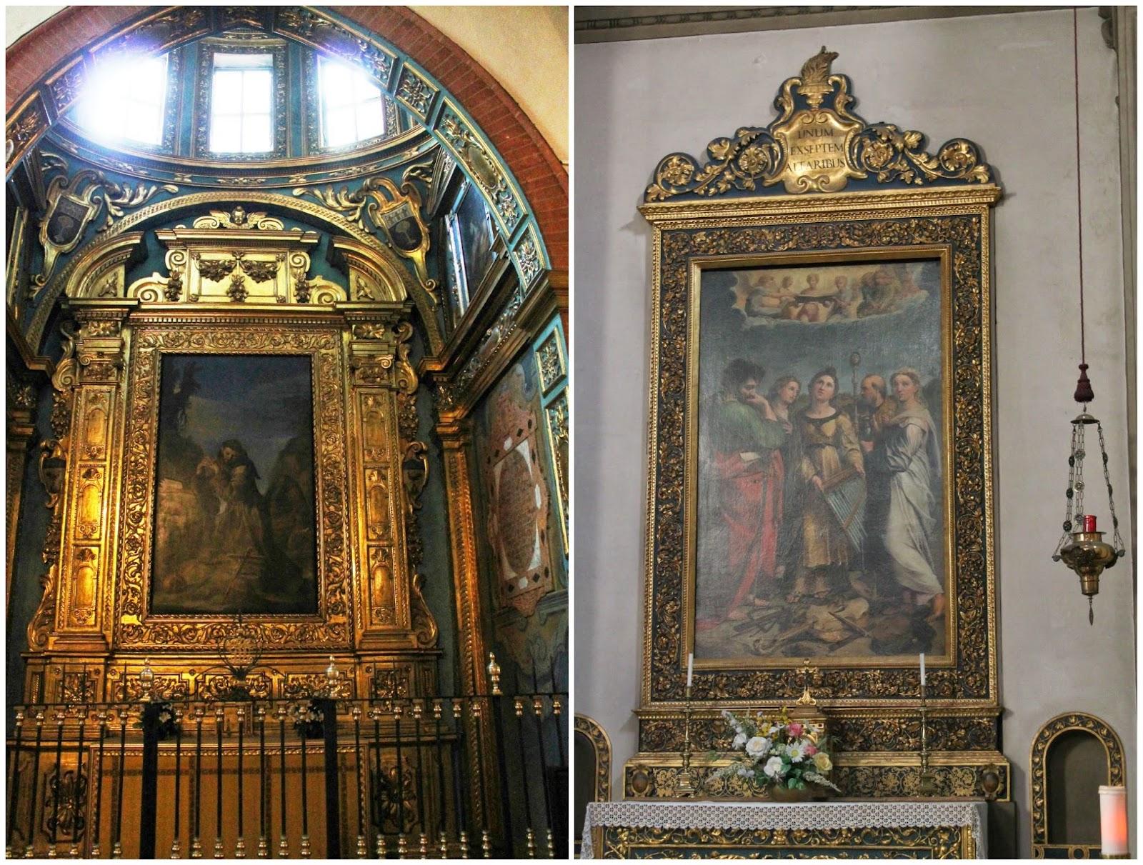 S.Francesco adora il crocefisso