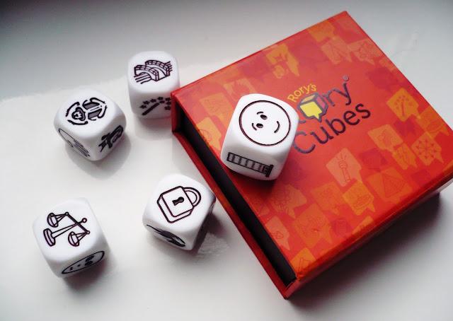 Czas dla Nas...czyli zabawa ze Story Cubes od Rebel!