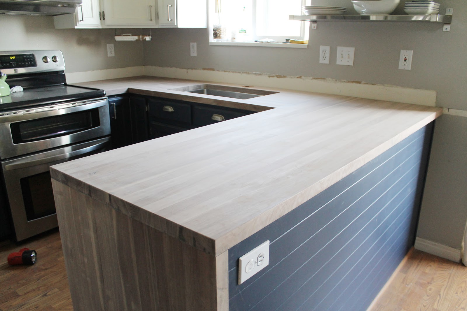 Installing Our Black Walnut Craft Art Countertops Chris