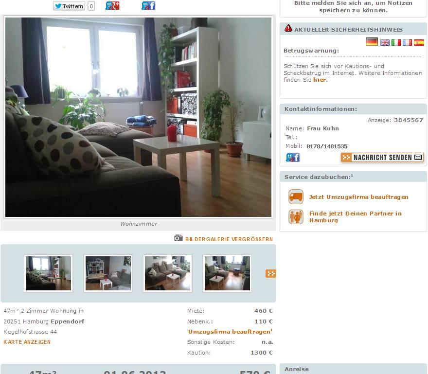 Permalink to Wohnung Hamburg Eppendorf
