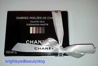 Ombres Perlees De Chanel Palette