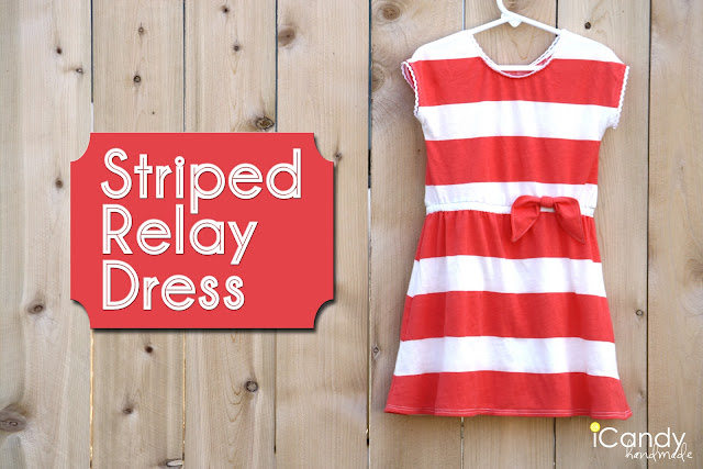 Striped Relay Dress pattern