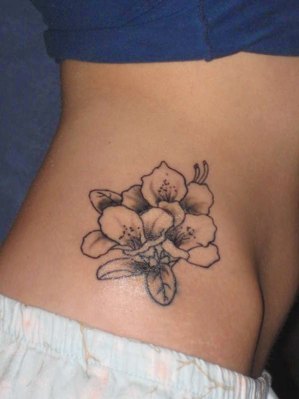 Girls Back Tattoo Desingns