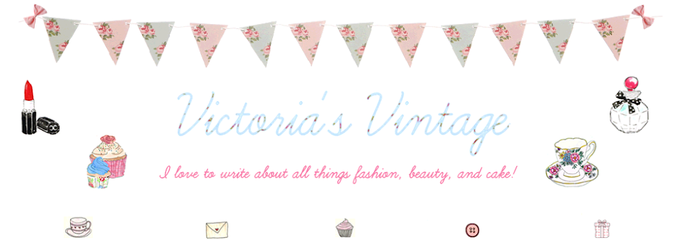 Victoria's Vintage - Fashion, Beauty & Lifestyle Blog