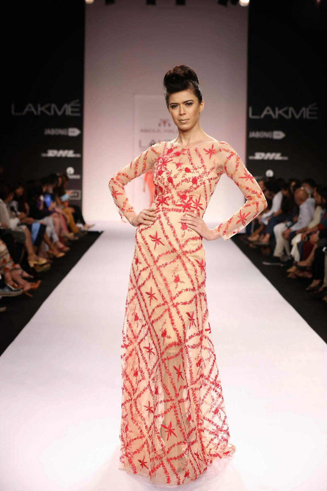 It was classic styling at its best when Abdul Halder unveiled his Avant-Gardé creations at Lakmé Fashion Week Summer/Resort 2014.