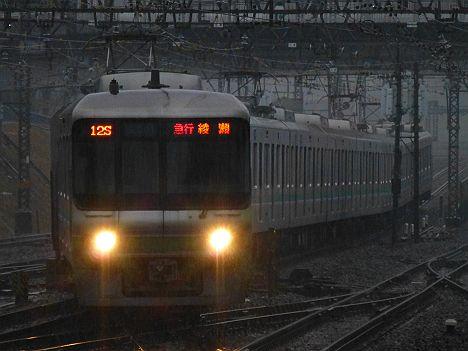 小田急線 千代田線直通 急行 綾瀬行き 06系