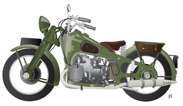 Motos Françaises 1940