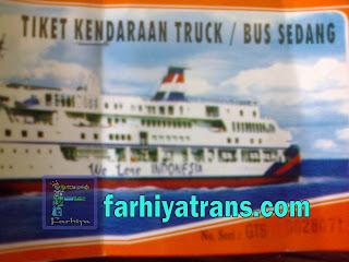 tiket kirim truk via kapal laut