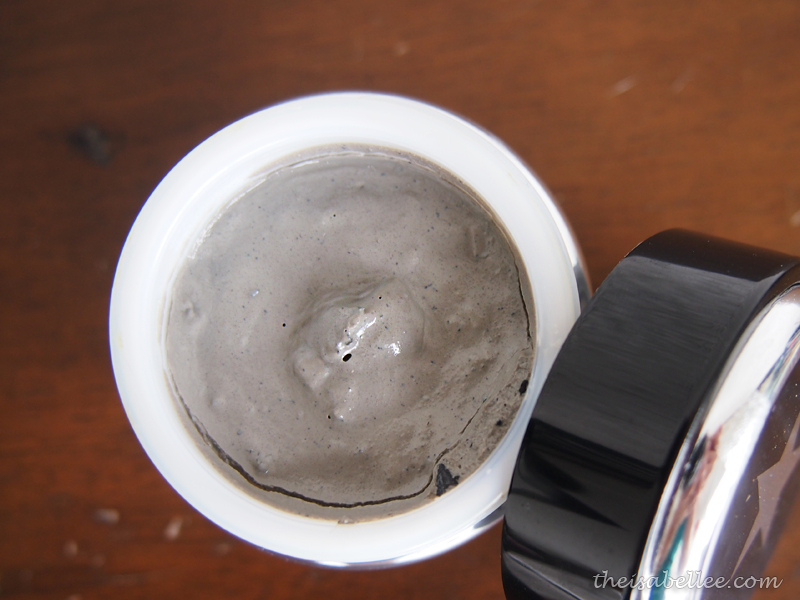 GlamGlow Youthmud is a grey coloured mud