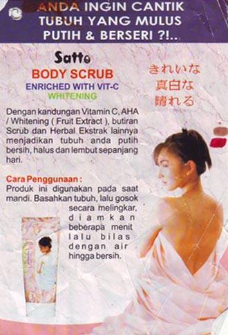 Satto Bodyscrub Info