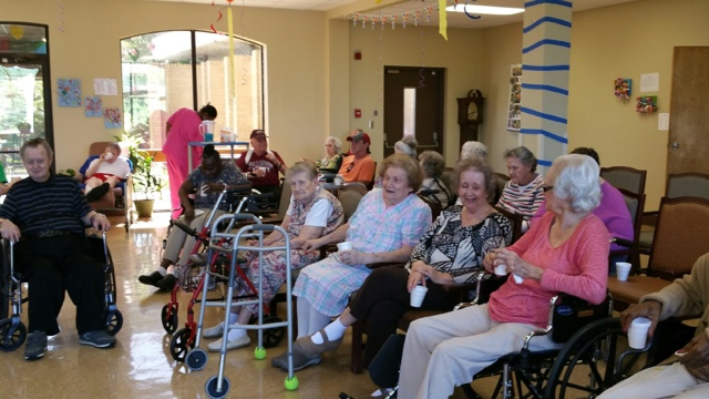 Birthday Party Ideas For Nursing Home Residents Home Painting
