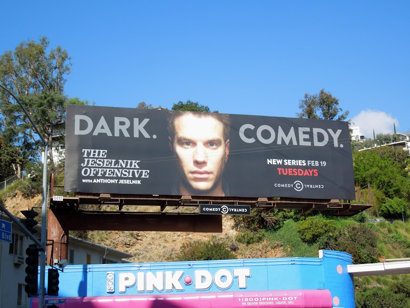 Jeselnik Offensive Dark Comedy billboard